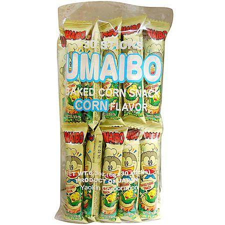 Umaibo Baked Corn Snack (0.21oz., 30pk.)