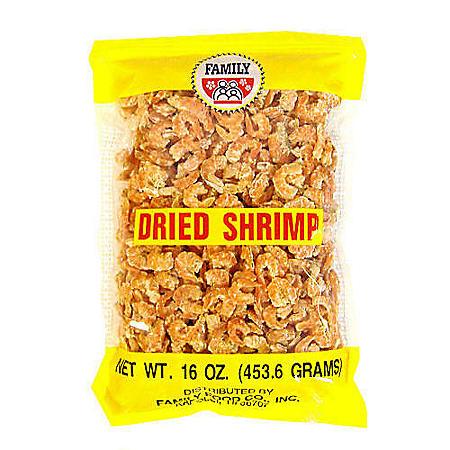 Family U.S. Dried Shrimp (16 oz.)