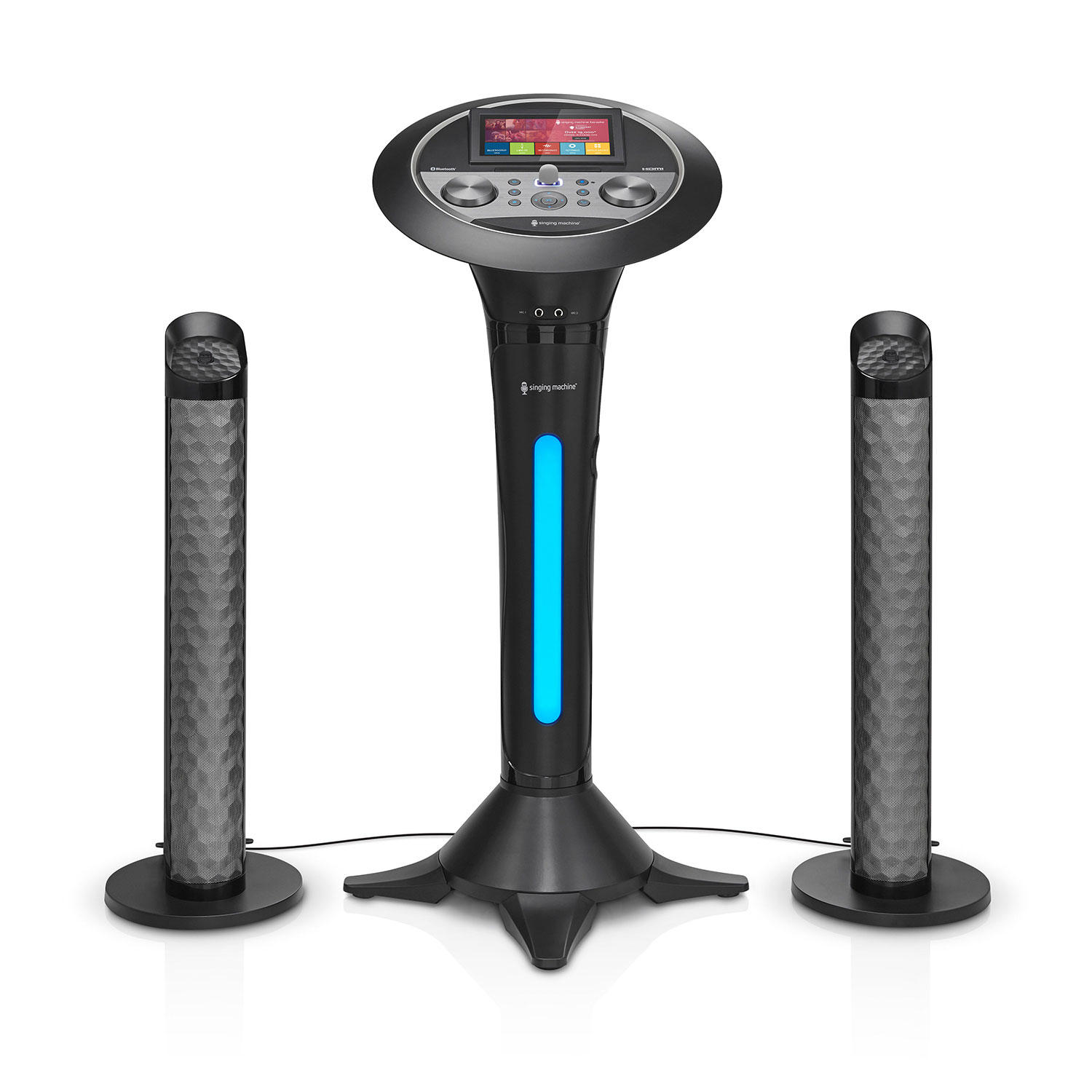 Singing Machine ISM1080 WiFi Pedestal Karaoke with 7