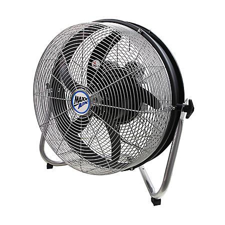 "MaxxAir 18"" Floor Fan with Internal Oscillation"