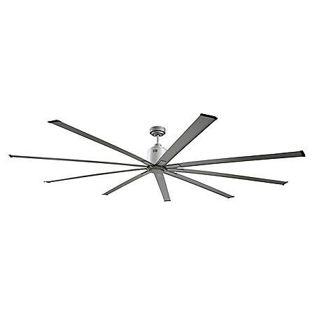 Maxx Air 96 In. Indoor 6-Speed Ceiling Fan in Brushed Nickel