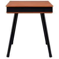 iLive Tech Table with Built-in Speaker and USB Charging Port (Choose Color)