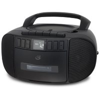 iLive GPX Bluetooth Boombox with AM/FM, Cassette and CD Player