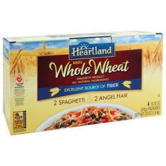 Heartland 100% Whole Wheat Pasta Combo - 4/13.25oz