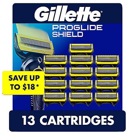 Gillette ProGlide Shield Men's Razor Blades (13 ct.)