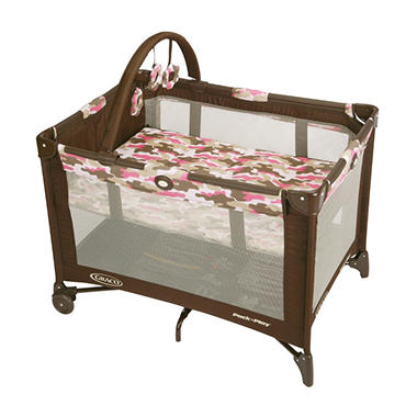 Graco Pack N Play, Camo Jane