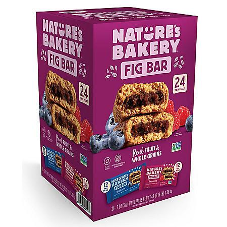 Nature's Bakery Fig Bar Variety Pack (2 oz., 24 pk.)