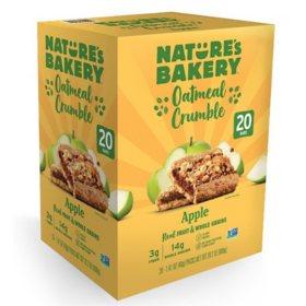 Nature's Bakery Apple Oatmeal Crumble (1.41 oz., 20 pk.)