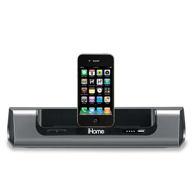 iHome iD8 Rechargeable Portable Speaker System for iPad/iPhone/iPod