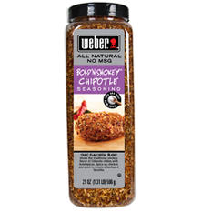 Weber Bold 'N Smokey Chipotle Seasoning - 21 oz.
