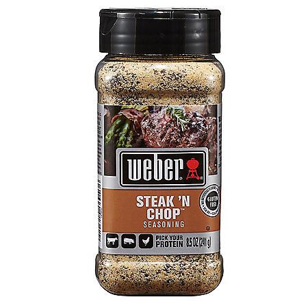 Weber Steak 'n Chop Seasoning (8.5 oz.)