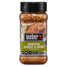 Weber Roasted Garlic and Herb Seasoning (7.75 oz.)
