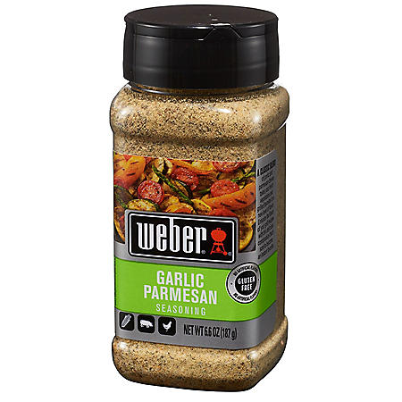 Weber Garlic Parmesan Seasoning (6.6 oz.)