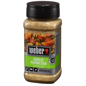 Weber Garlic Parmesan Seasoning (6.6 oz.)