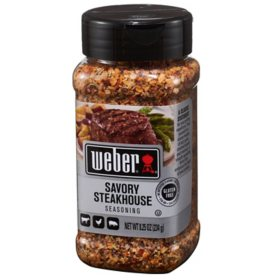 Weber Savory Steakhouse Seasoning (8.25 oz.)