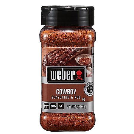 Weber Cowboy Seasoning & Rub (7.75 oz.)