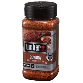 Weber Cowboy Seasoning & Rub (7.75 oz.)
