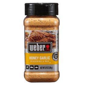 Weber Honey Garlic Seasoning & Rub (8.75 oz.)