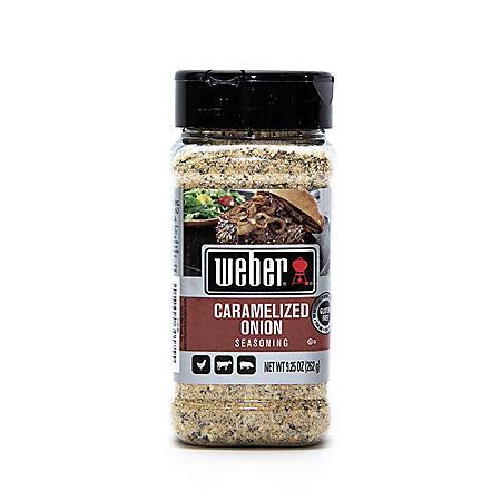Weber Caramelized Onion Seasoning (9.25 oz.)