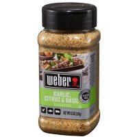 Weber Garlic Citrus Basil Seasoning (8.5 oz.)