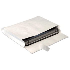 Quality Park - Tyvek Booklet Expansion Mailer, 10 x 13 x 2, White - 100/Carton