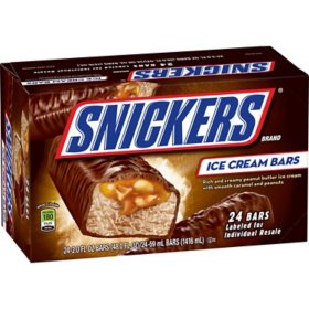 Snickers Ice Cream Bars (24 ct.)