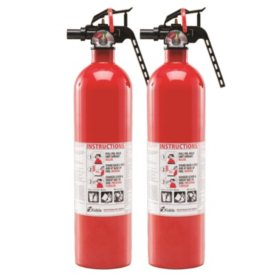 Kidde Twin Pack Fire Extinguisher Rated 1A10BC - Sam\'s Club