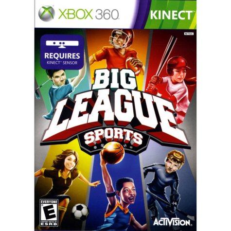 Big League Sports - Xbox 360 Kinect