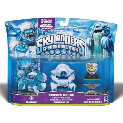 Skylanders Adventure Pack - Empire of Ice with Slam Bam Figure