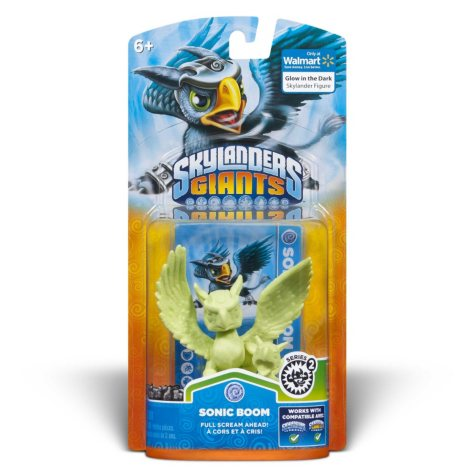 Skylanders Giants Exclusive Glow-in-the-Dark Single Character Pack - Sonic Boom
