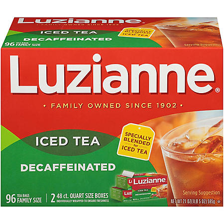 Luzianne Decaffeinated Tea (96 ct.)
