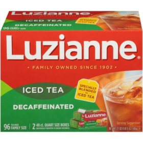 Luzianne Decaffeinated Tea (96 ct.)