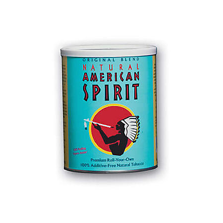 American Spirit Tobacco Original Blend Turquoise Tin (5.29 oz.)