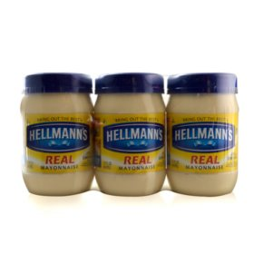 Hellmann's Mayo - 15 oz. - 3 pk.