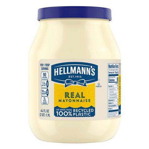 Hellmann's® Real Mayonnaise - 64 fl. oz.