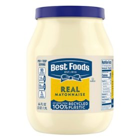 Best Foods Real Mayonnaise (64 oz.)