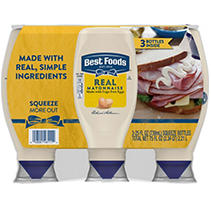 Best Foods Real Mayonnaise (25 oz, 3 pk.)