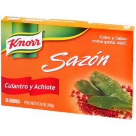 Knorr Saz?n Culantro y Achiote (6.34 oz., 36 sobres)