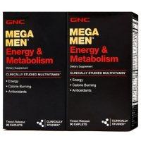 GNC Mega Men Energy & Metabolism Multivitamins, 180 ct.