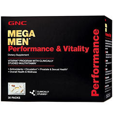 GNC Mega Men Performance & Vitality Vitapak