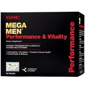 GNC Mega Men Performance & Vitality Vitapak