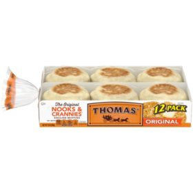 Thomas Original White English Muffins (12 ct.)