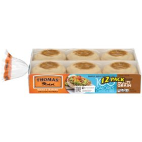 Thomas' Light Multigrain English Muffins (24oz)