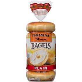 Thomas' Plain Soft and Chewy Bagels (6 ct.)
