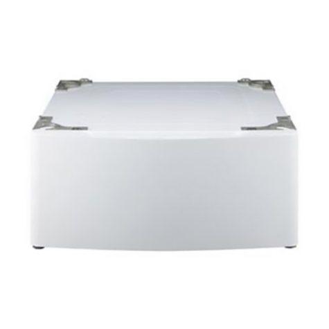 LG Laundry Pedestal - WDP5W White