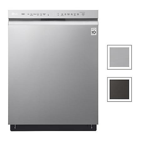 LG Front Control Dishwasher with QuadWash, 48 dBA