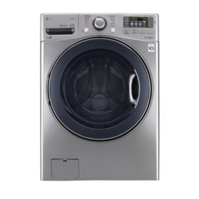 LG 4.5 cu. ft. Front Load Washer in Graphite Steel