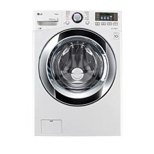 LG 4.5 cu. ft. Ultra-Large Capacity with Steam Technology - WM3670HWA White