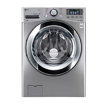 LG 4.5 cu. ft. Ultra-Large Capacity with Steam Technology - WM3670HVA Graphite Steel