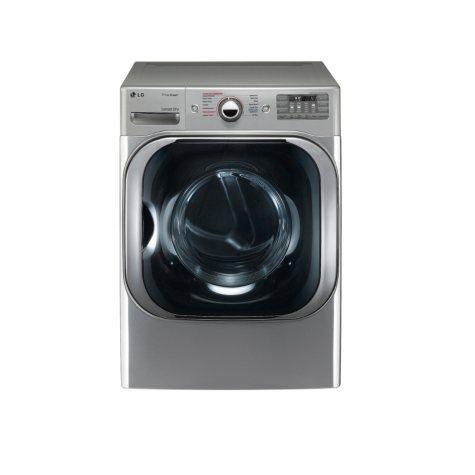 LG 9.0 cu. ft. Mega-Capacity Gas Dryer with Steam Technology - DLGX8101V Graphite Steel